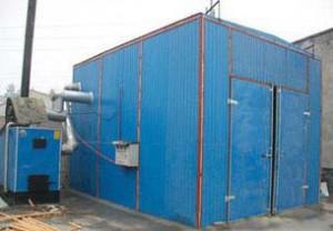 湖南木材热风(蒸汽)干燥炉