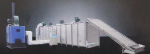 湖北煤加热网带式中药材烘干机
